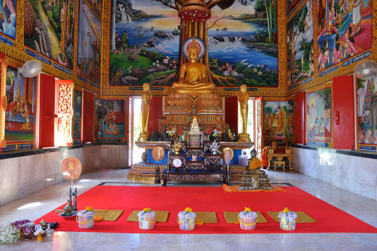 Buddhist Temple Venue