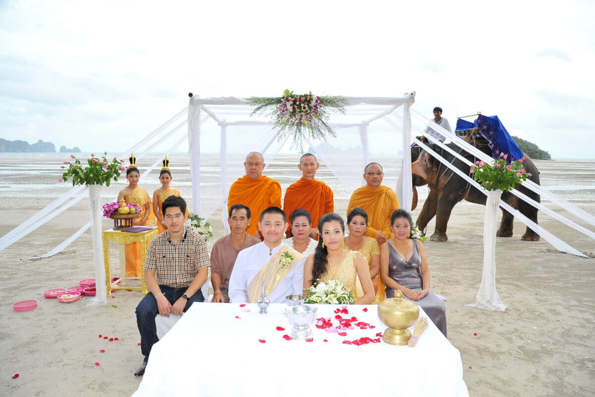 Elephant Beach Thai Ceremony Package