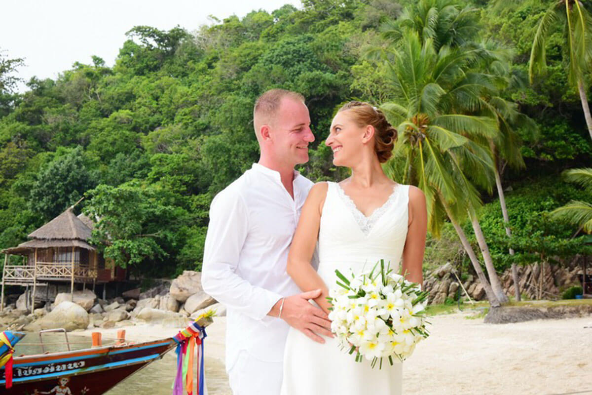 Koh Tao Wedding
