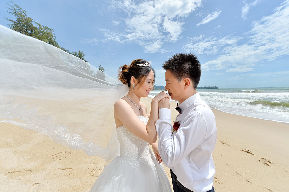 Pre-Wedding Photoshoot Phuket Package Simple