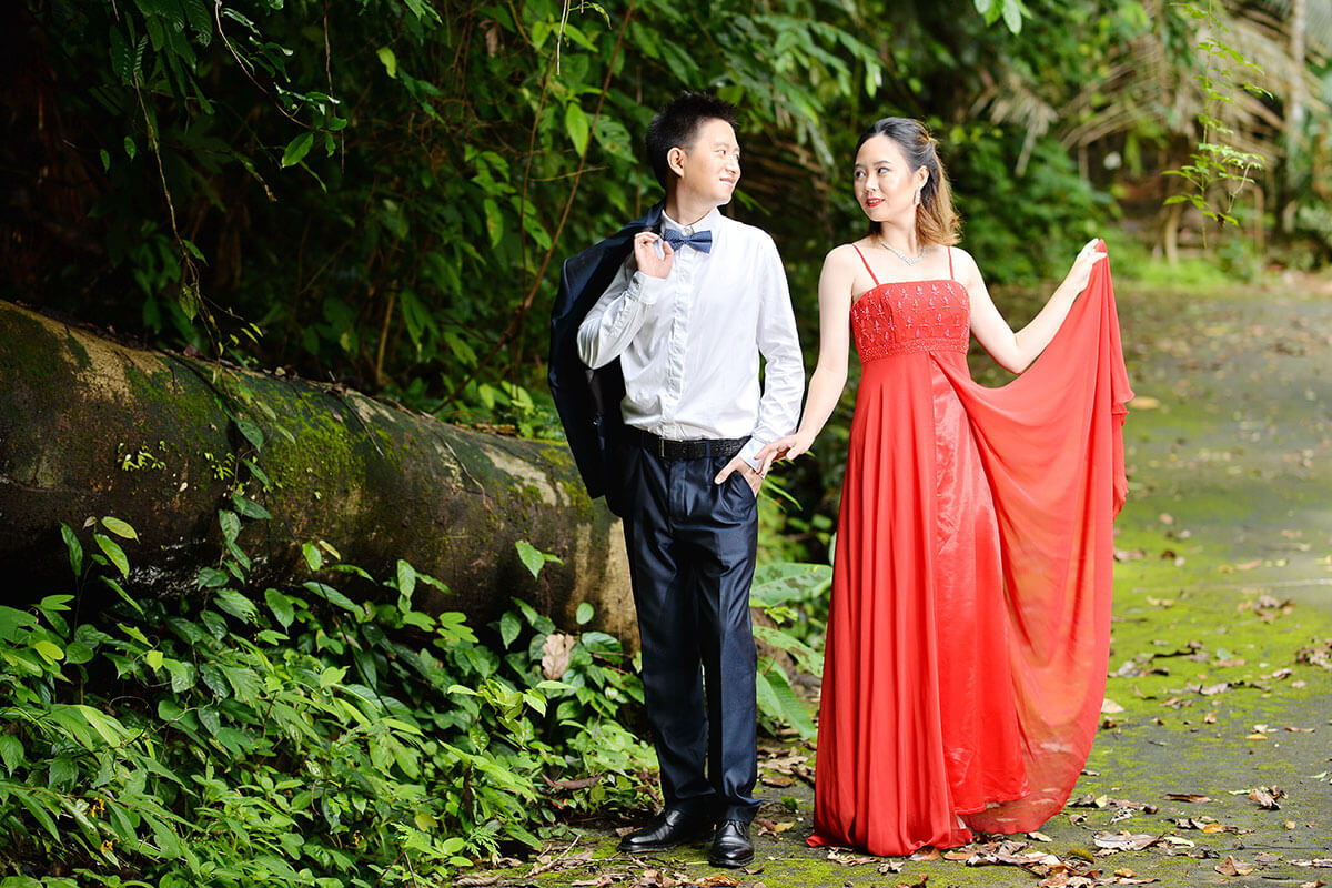 Promotion Waterfall Western Wedding Package