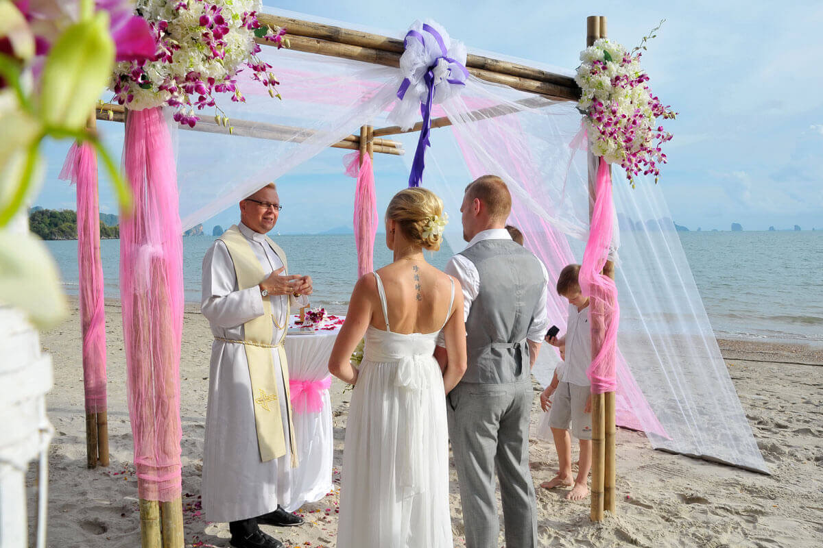 Religious Lutheran Wedding Ceremony Package