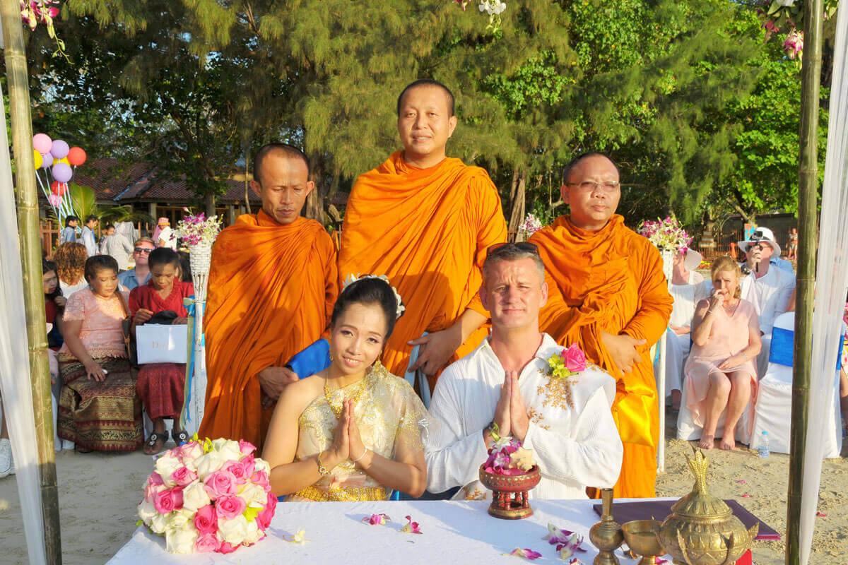 Renew Buddhist Wedding Beach Package