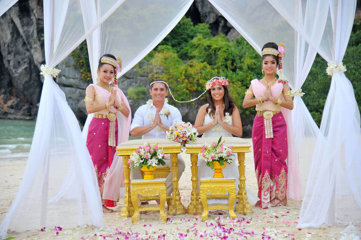 Thai Wedding Ceremony Grand Package