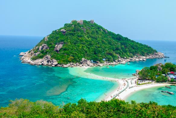 龜島(Koh Tao) 島嶼婚禮